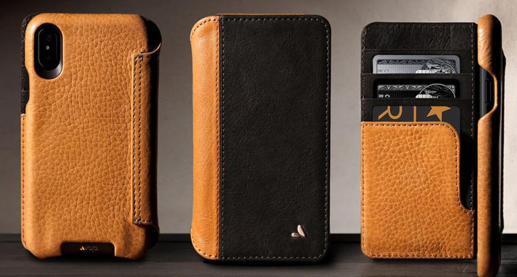 iPhone X Leather Case - The Custom Wallet LP