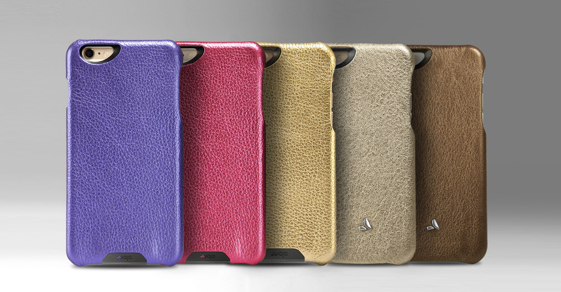 Vintage Metallic Leather Grip - iPhone 6/6s Plus Case