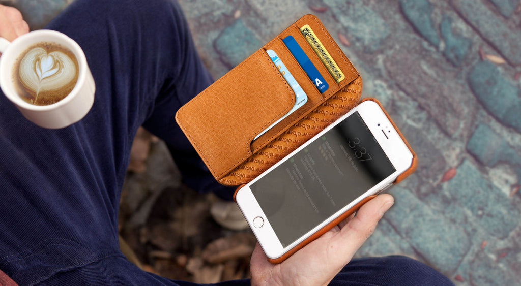 iiPhone 7 Wallet Agenda Premium Leather Case