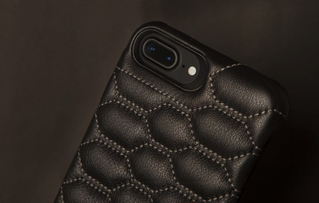 grip matelasse iphone 7 plus leather cases