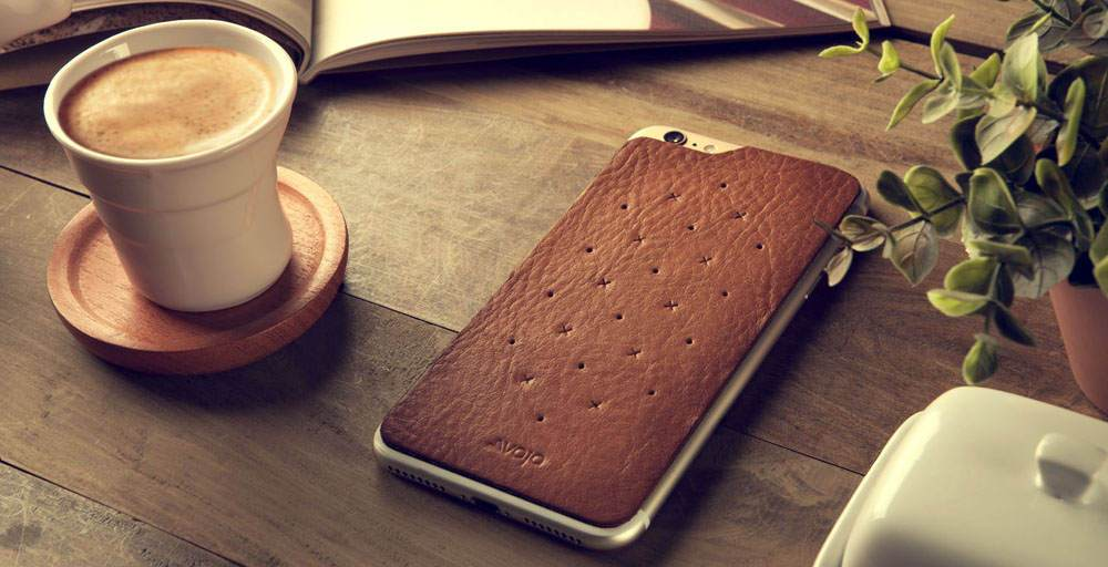 Leather Back for iPhone 8 Leather Cases