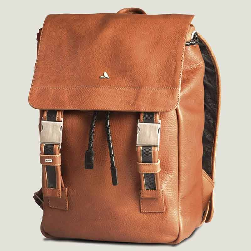 Leather Explorer Backpack