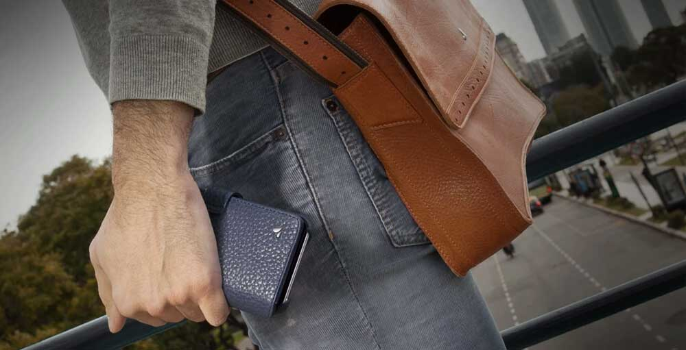 Leather iPhone Wallet Cases