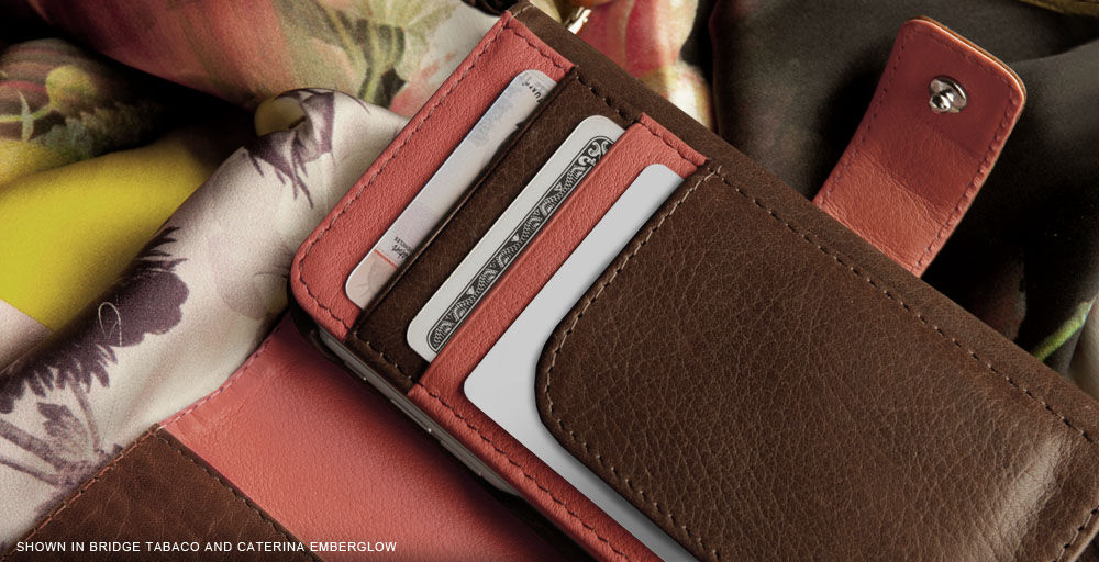 Wallet With Detachable iPhone 6/6s Leather Case