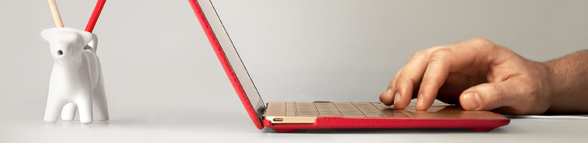 "MacBook 12"" Leather Cases"