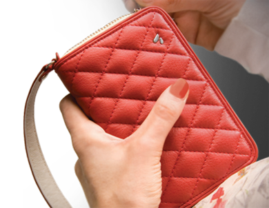Premium Leather Smartphone Clutch