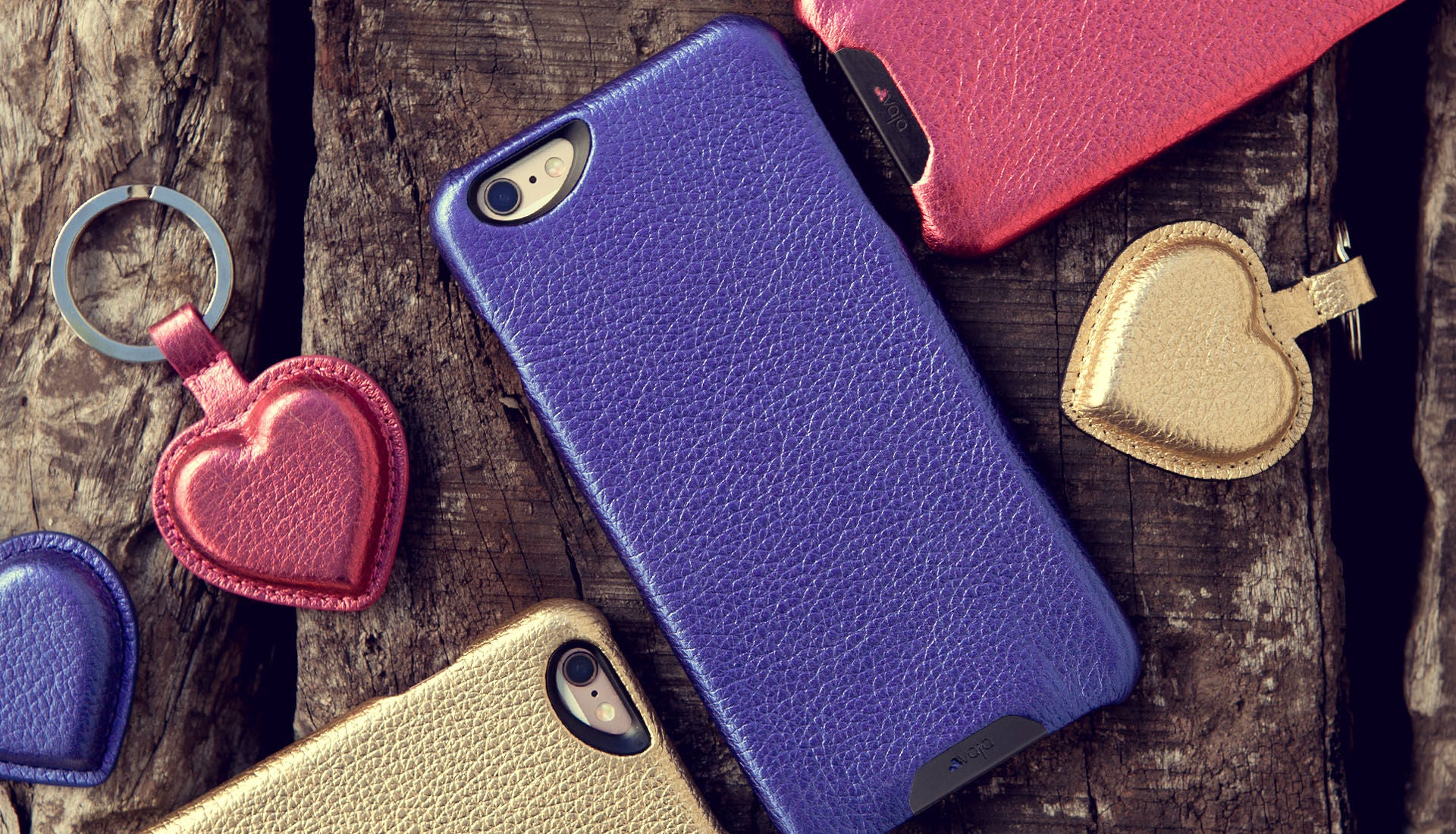 iPhone 6/6s Vintage Metallic Leather Grip  Case