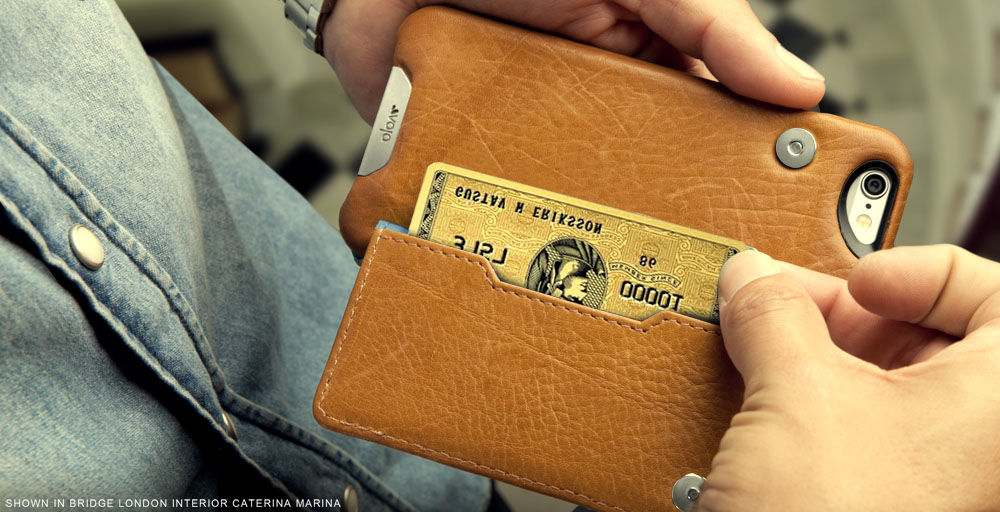 Slim and smart wallet case