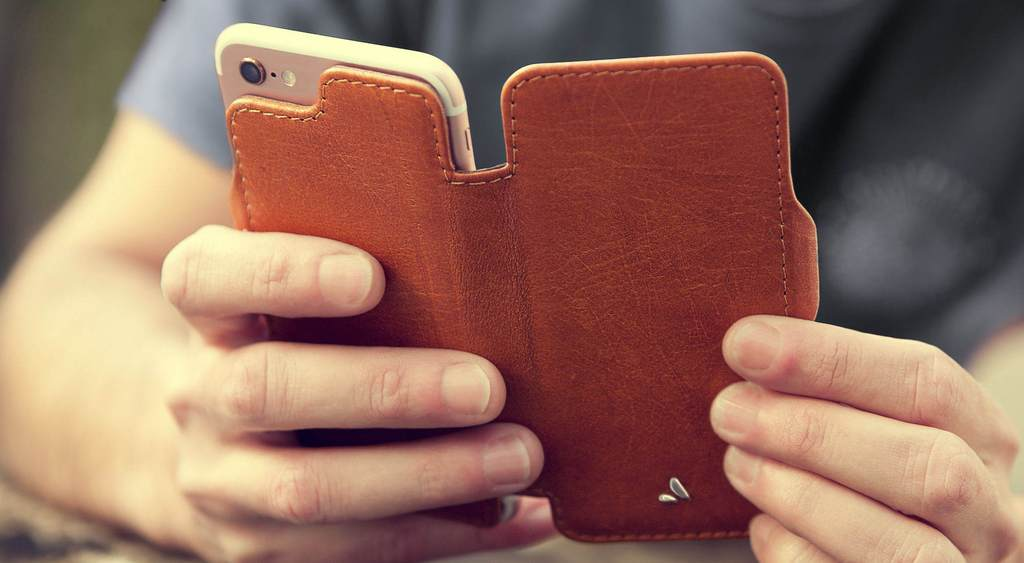 Nuova Pelle for iPhone 8 Leather Cases