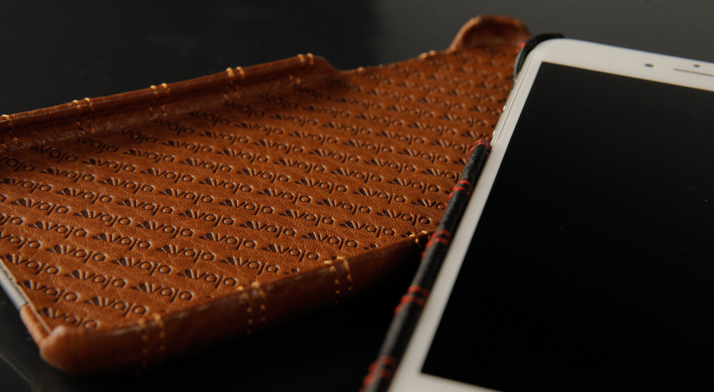 Quilted iPhone 7 Leather Case