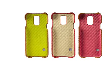 Premium Samsung S5 Leather Case