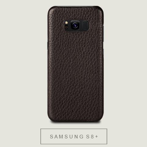 Samsung S8 Plus Grip Leather case