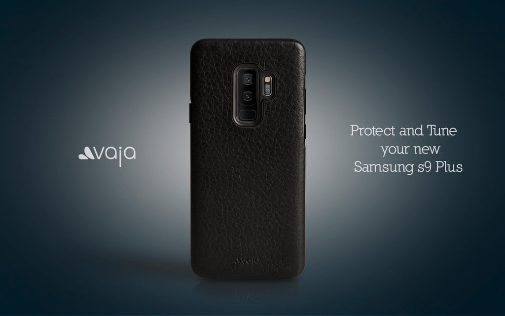 samsung s9 plus vaja leather case