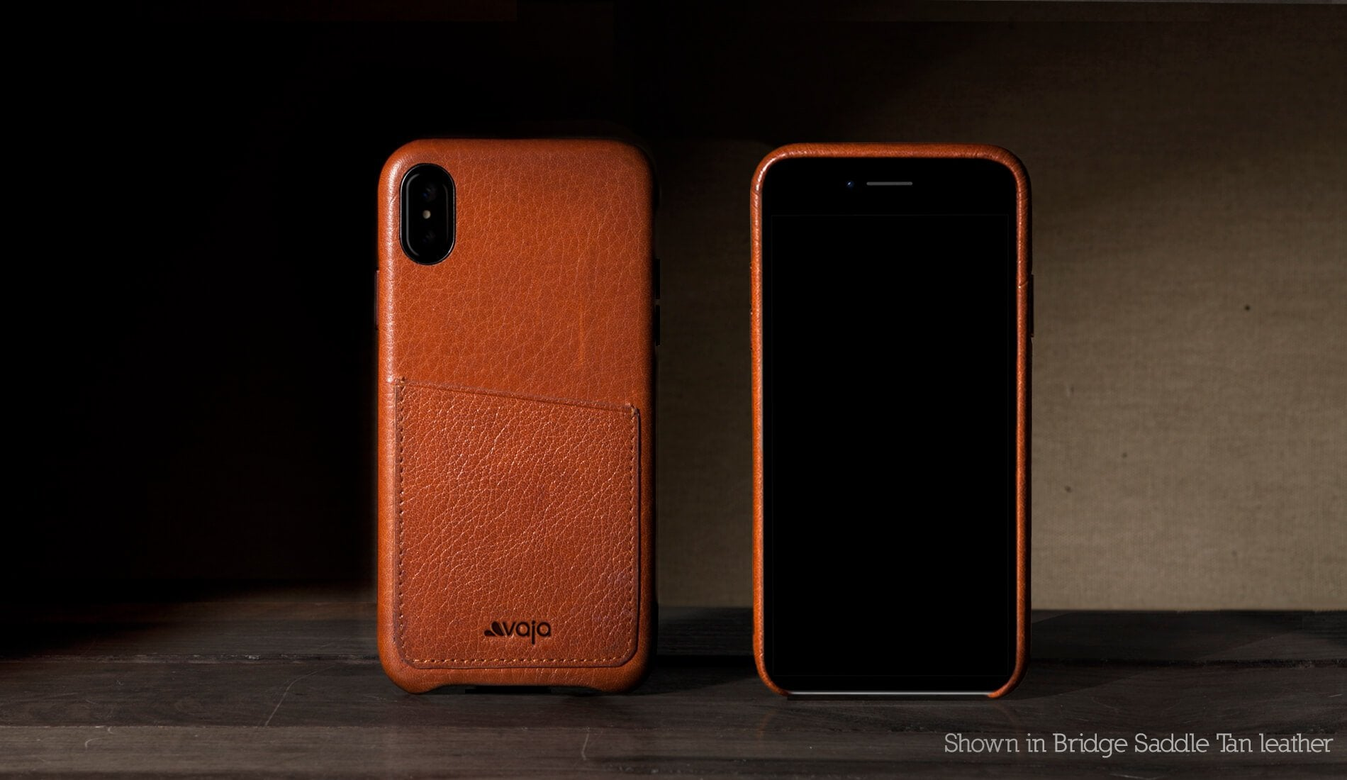 Slim Grip ID for iPhone X / iPhone Xs Leather Case