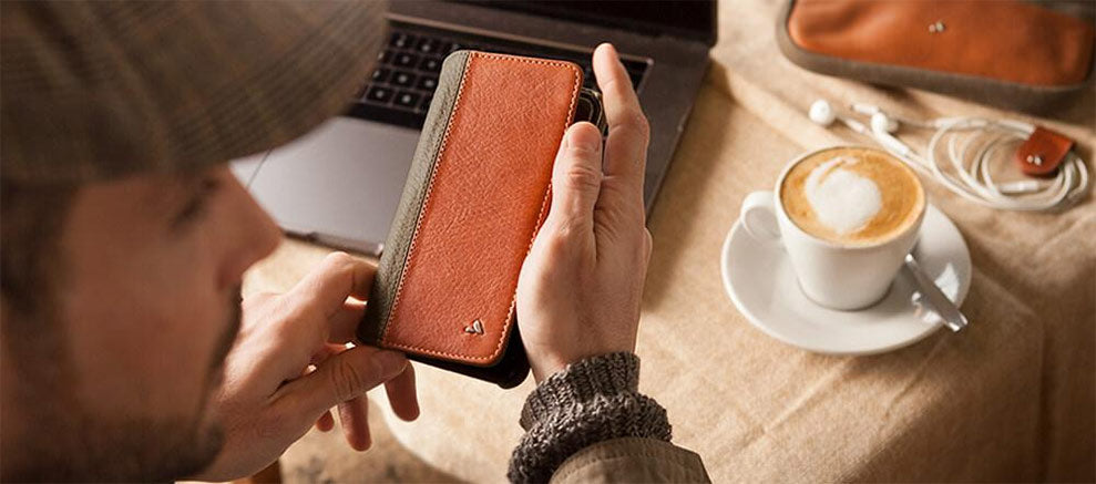 Soft Leather iPhone Cases and Wallets