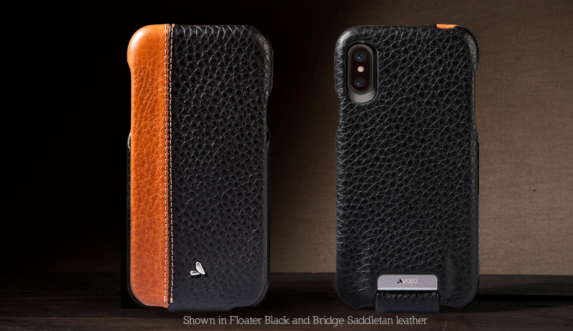 Top LP for iPhone X / iPhone Xs Leather Case