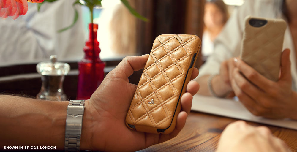 Quilted iPhone 6/6s Leather Cases