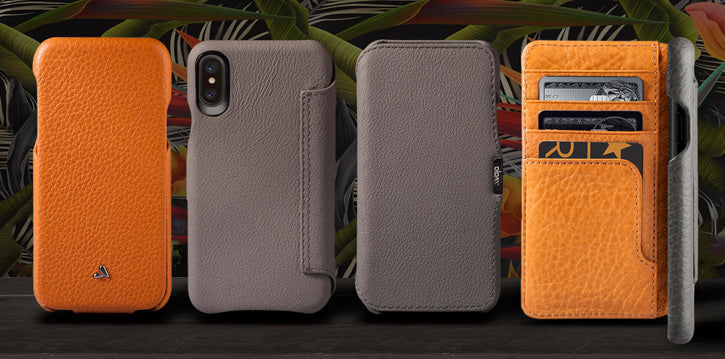 Premium Leather iPhone X Cases by Vaja