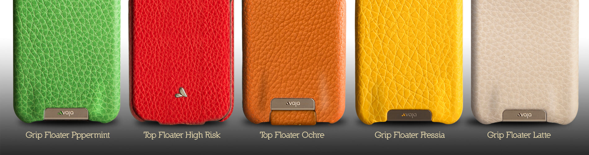 Leather color chart Floater