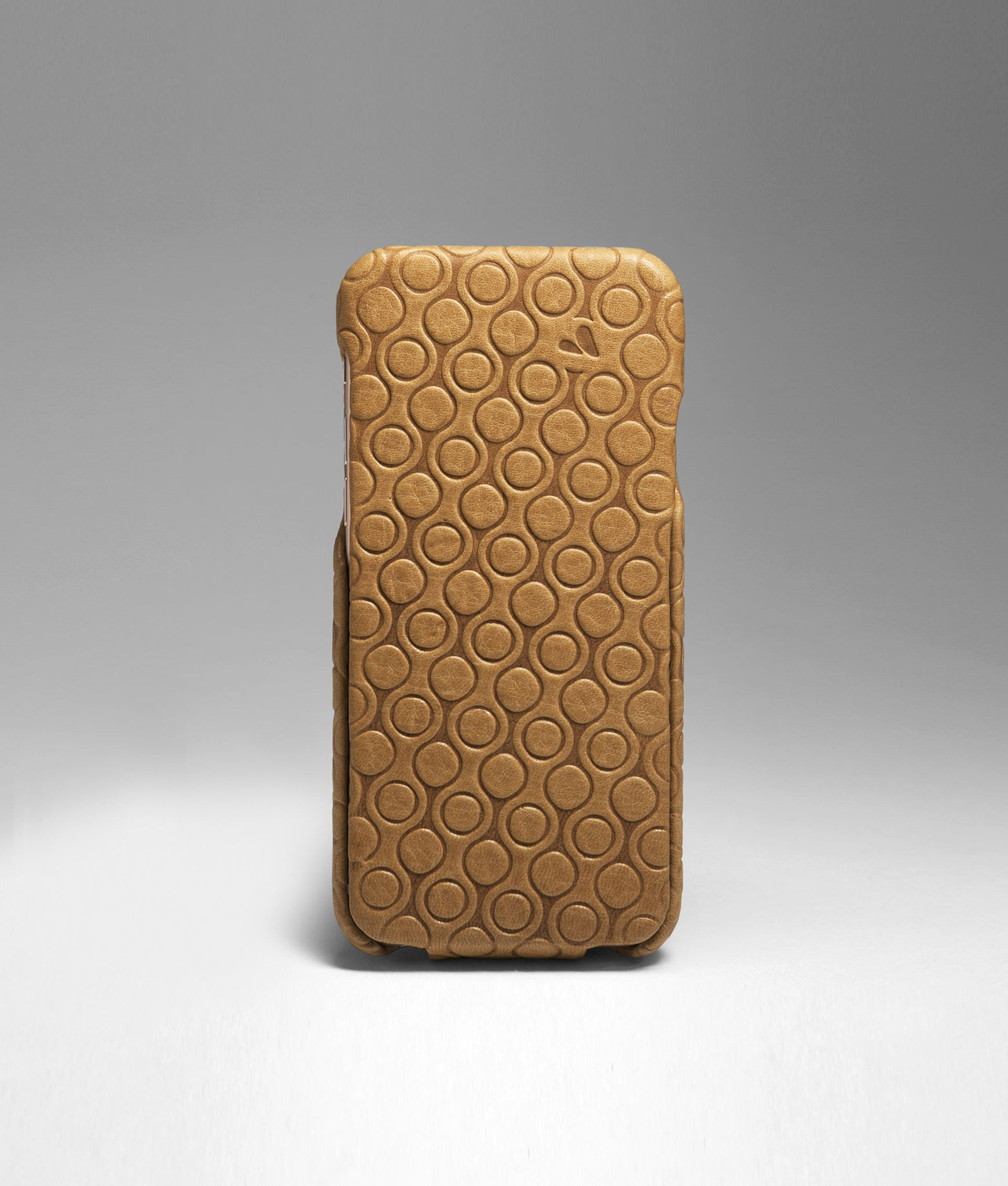 iPhone 6 / 6s - Embossed Top Leather Case