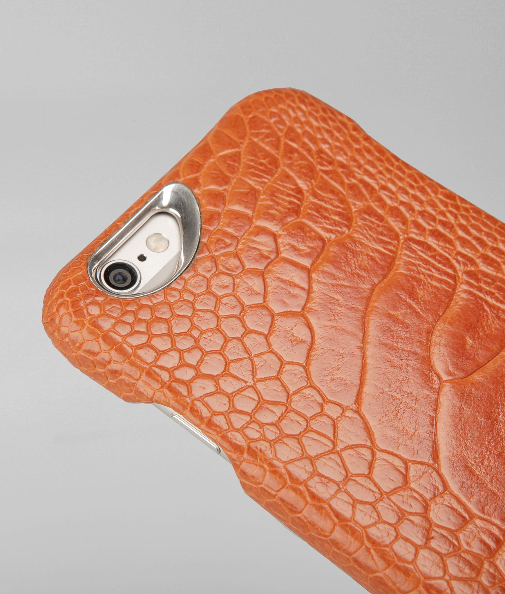 iPhone 6/6s Plus - Grip Struzzo Leather Case