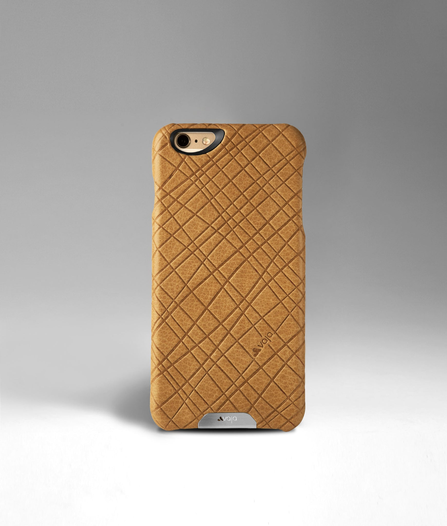 London Striscia Leather Grip Case