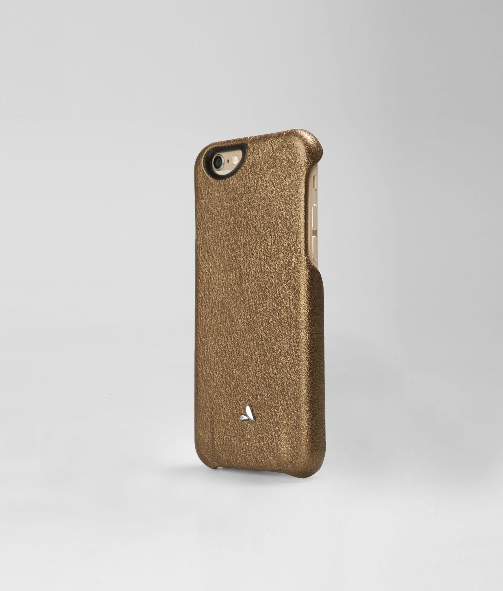 iPhone 6/6s Leather Case - Vintage Metallic Grip
