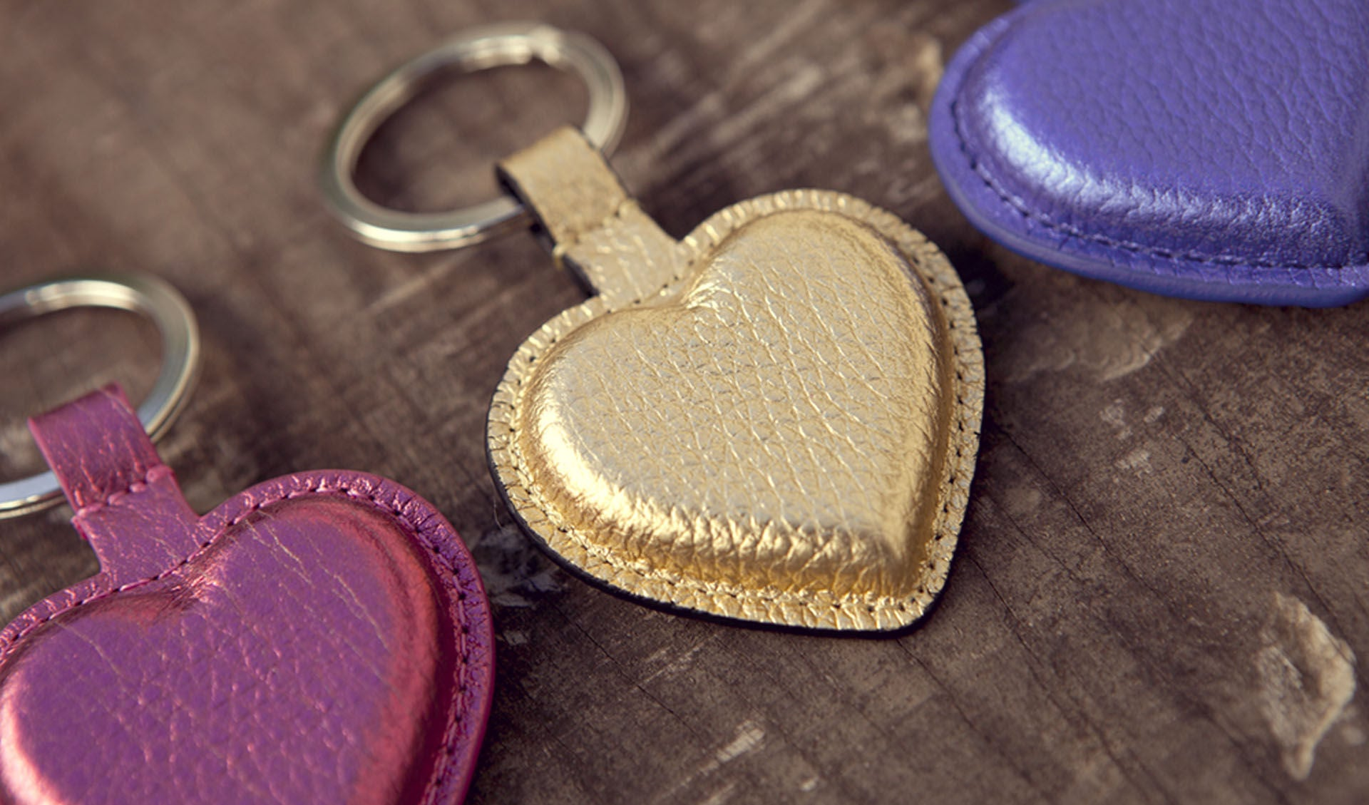 Premium Leather Bella Key Ring