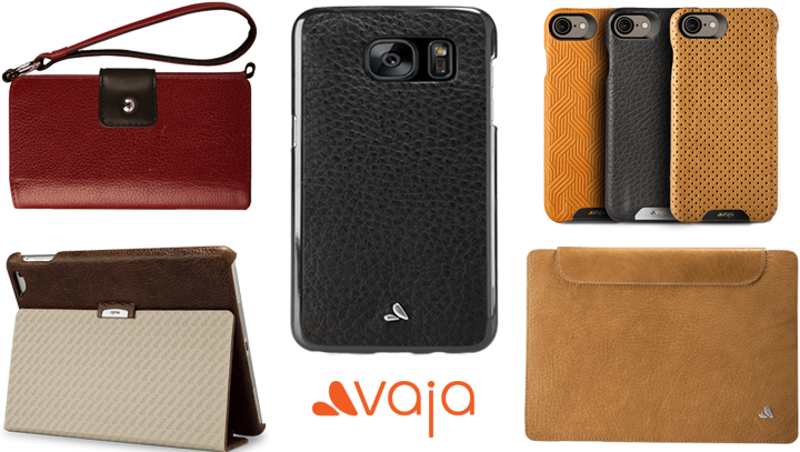 Customize Your Leather Cases at Vaja