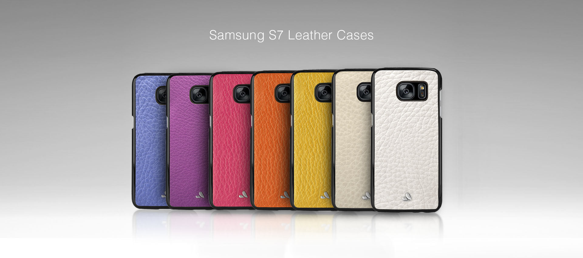 Vaja Samsung S7 Leather Cases