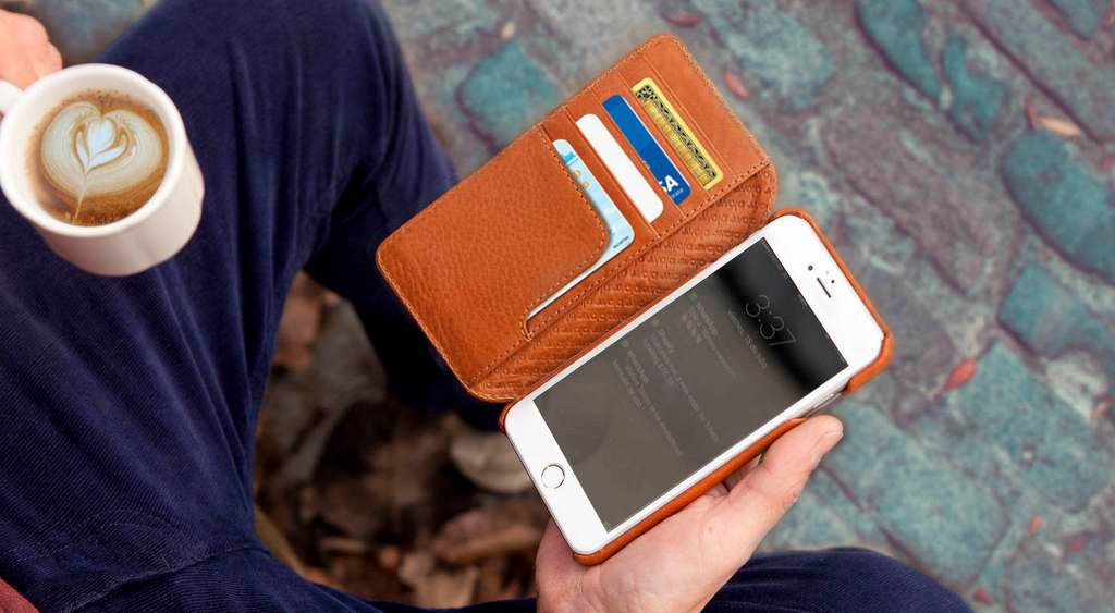 Wallet Agenda for iPhone 8 Plus Leather Cases