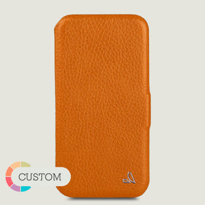 Customizable Folio - iPhone 11 Pro leather case - Vaja