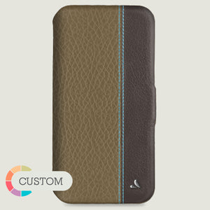 Customizable Folio LP iPhone 11 Pro Max leather case - Vaja
