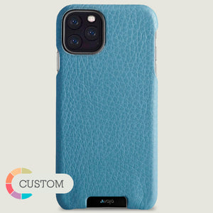 Customizable Grip iPhone 11 Pro Max leather case - Vaja
