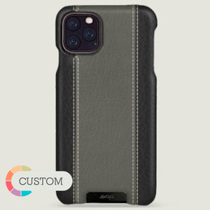 Customizable Grip GT iPhone 11 Pro Max leather case - Vaja