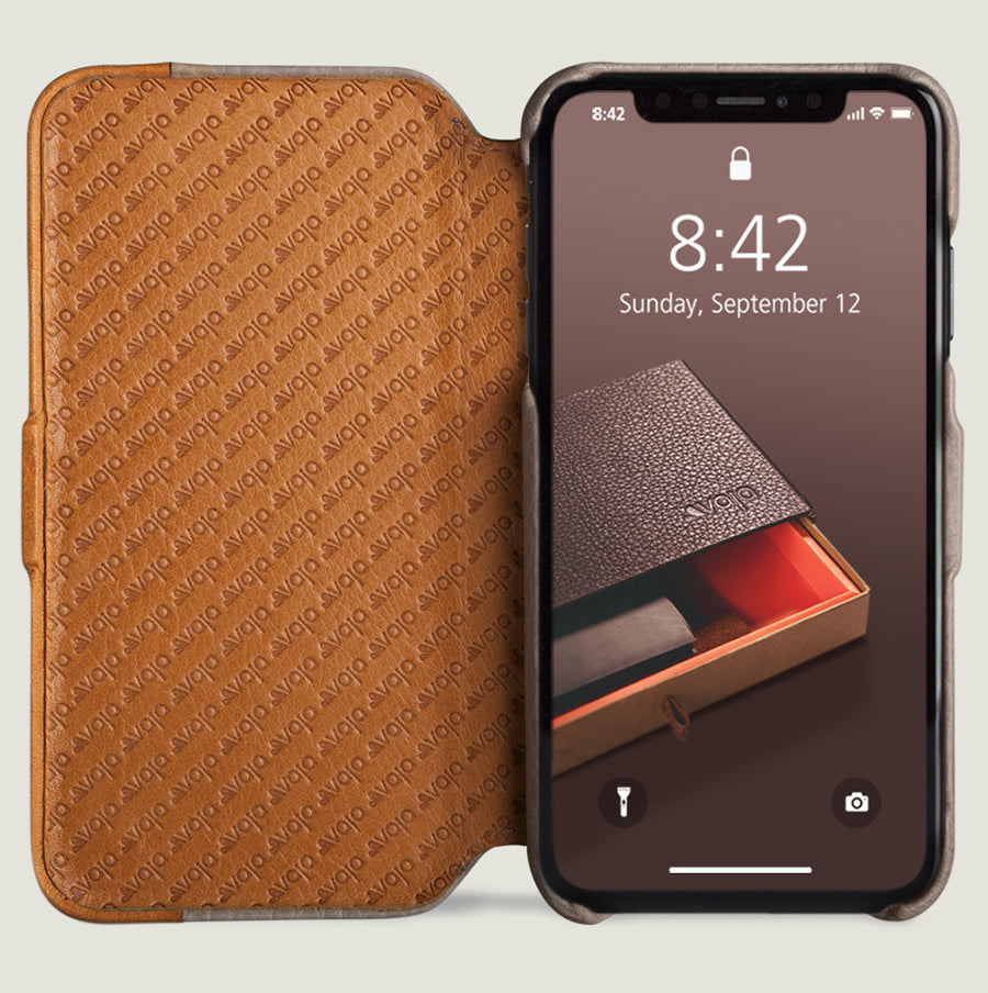 newest collection 9ba2b 20743 Folio LP - iPhone Xs Max Leather Case