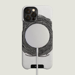 Around iPhone 12 Pro leather case with MagSafe - Vaja