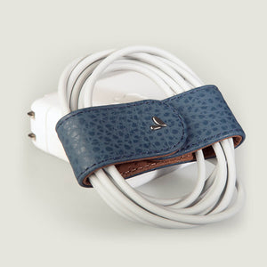 Leather Bow Cord Organizer - Vaja