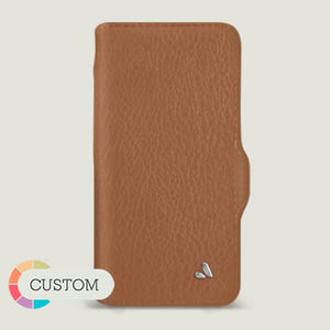 Customizable iPhone 12 pro Wallet leather case with MagSafe - Vaja
