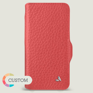 Customizable iPhone 12 Pro Max Wallet leather case - Vaja