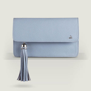 Alma Leather Clutch - Vaja