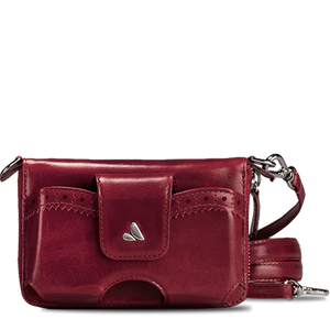 Ella Universal Carryall - Premium Leather Cross-Body Bag and Clutch - Vaja