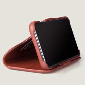 Folio Stand iPhone 11 Pro wallet leather case - Vaja