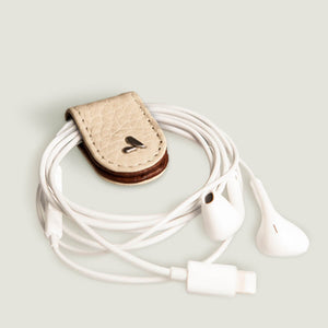 Leather jaws Cable Holder - Vaja