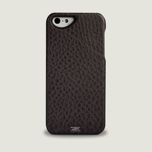 Leather Hardshell Case for iPhone SE (2016) - Vaja