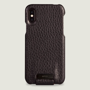 Top Amy iPhone X / iPhone Xs Leather Case - Vaja