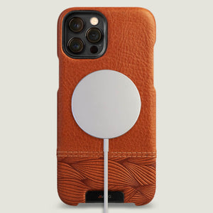 Grip Duo iPhone 12 pro Max Leather Case with MagSafe - Vaja