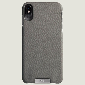 Grip - iPhone Xs Max Leather Case - Vaja