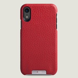Grip iPhone Xr Leather Case - Vajacases