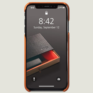 Grip Rider - iPhone Xs Max Leather Case - Vaja